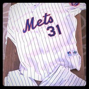 Authentic Mike Piazza Mets Uniform!